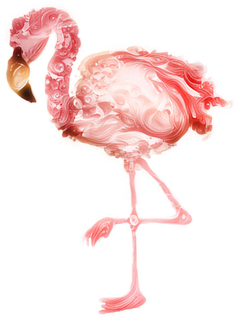 Fluffy Flamingo by SnoepGames