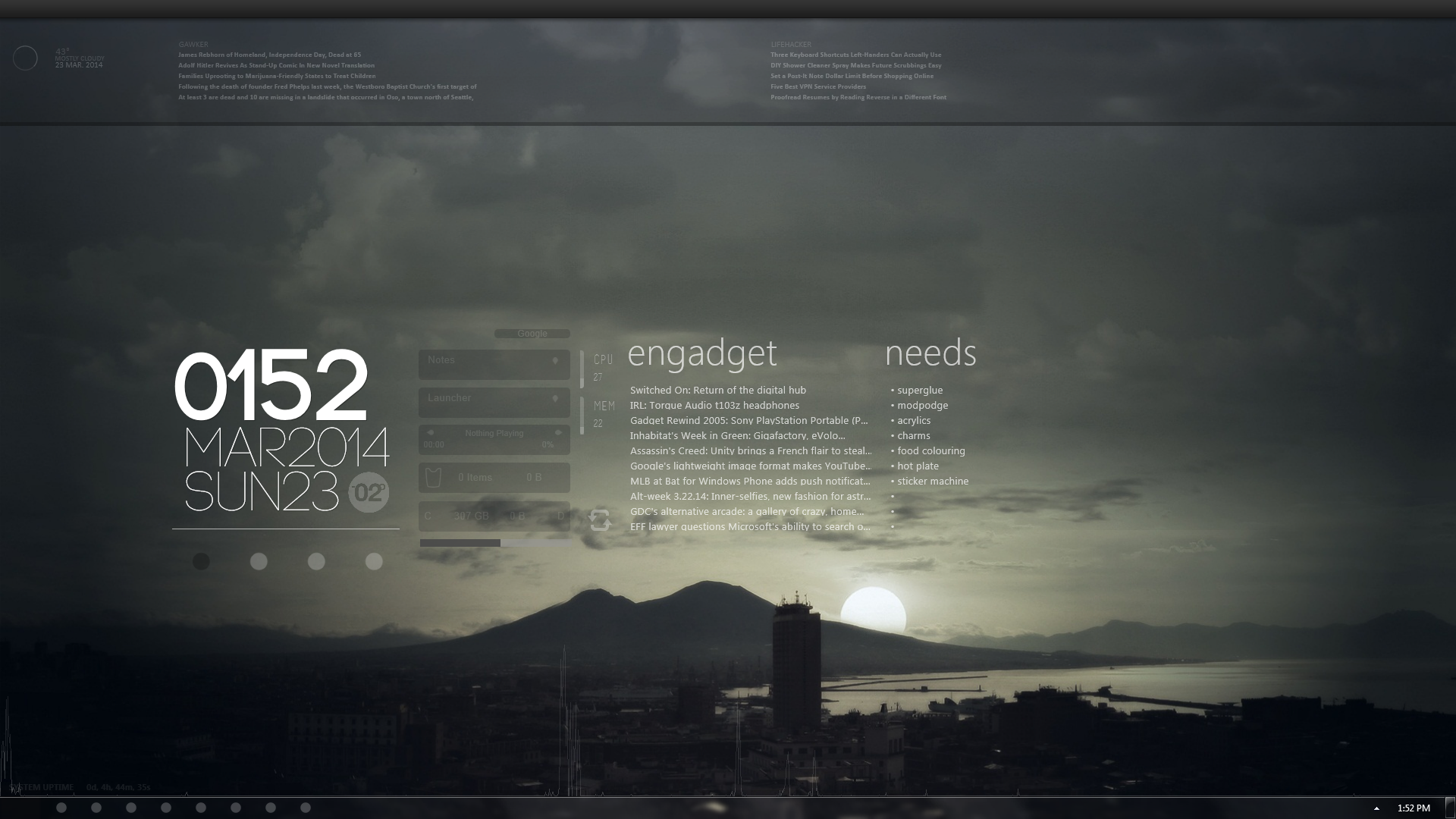 Desktop [3-23-2014] by Comraxe