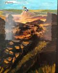 MTG: Basic Land - Plains (Alter art)