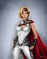 Kate Upton - PowerGirl