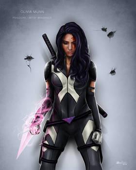 Olivia Munn - Psylocke