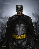Ben Affleck Batman concept by Ben-Wilsonham