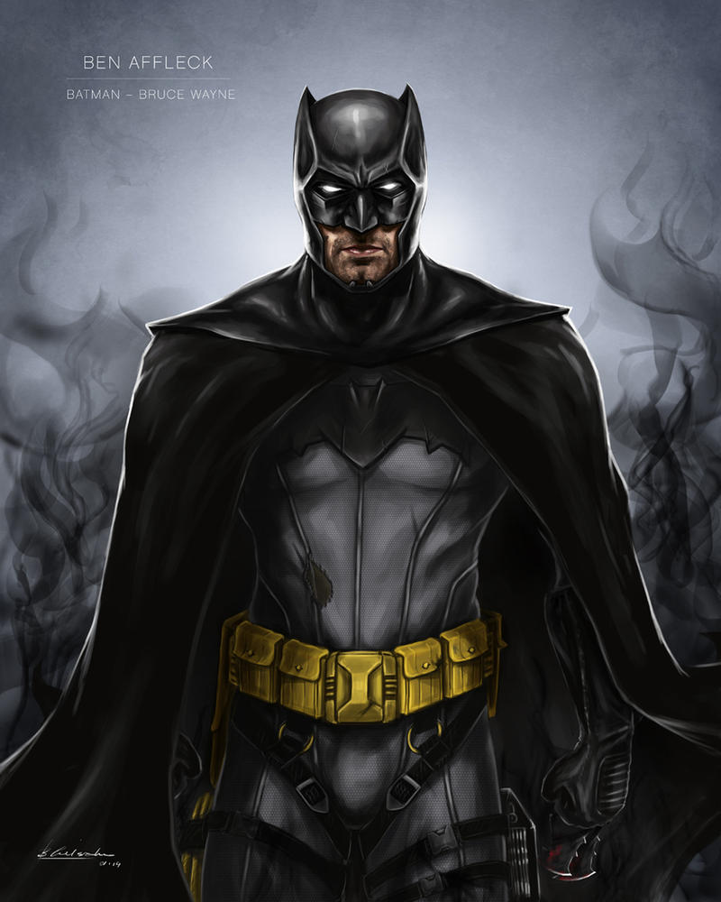 Ben Affleck Batman Concept By Ben Wilsonham On DeviantArt