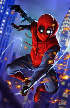 Spider-man Homecoming Fan art