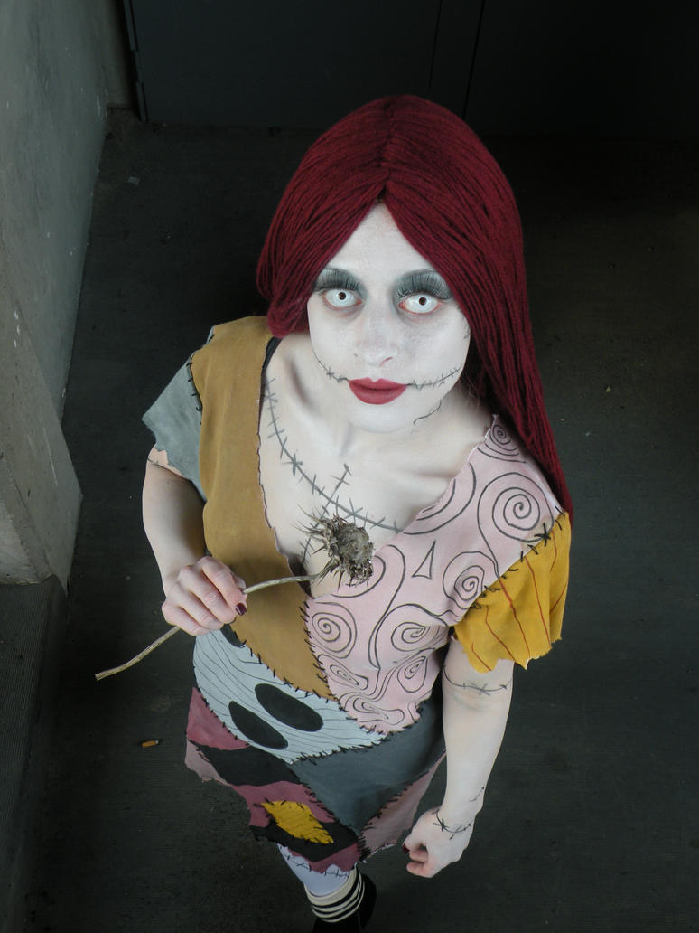 Nightmare Before Christmas Sally Cosplay bigking keywords and pictures