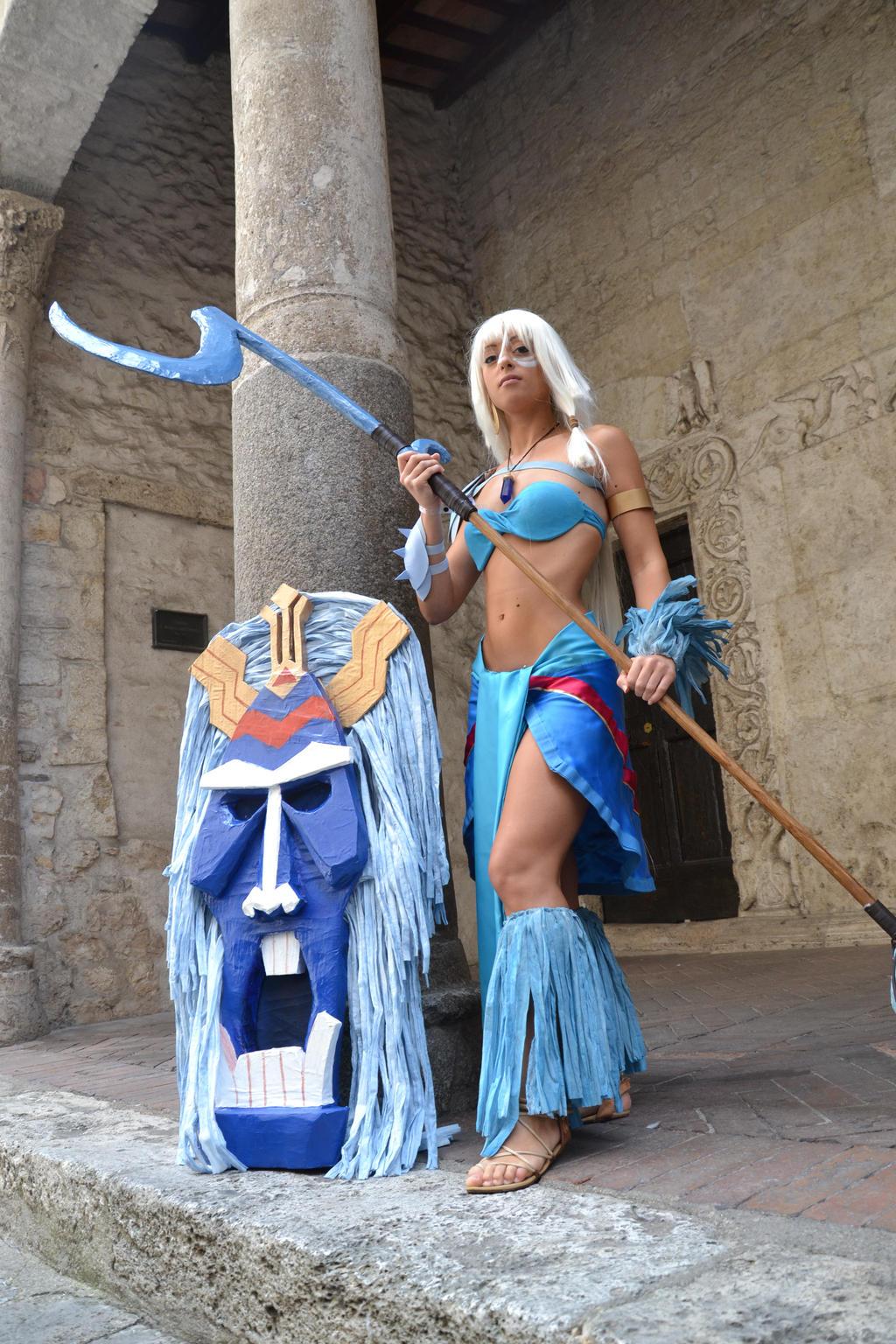 Kida and Tribal Mask by Lady-Ragdoll