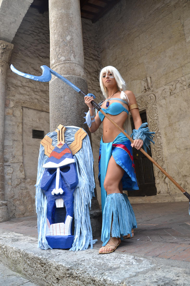 Kida and Tribal Mask by Lady-Ragdoll