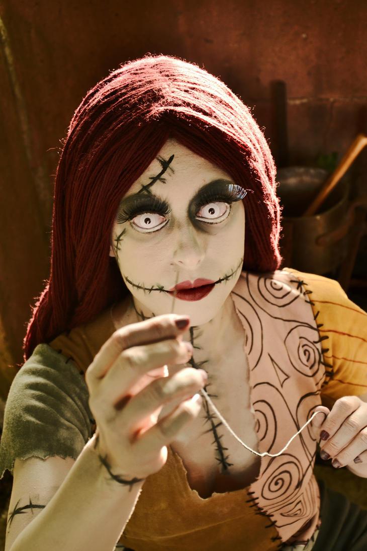 Sally Doll Face by Lady-Ragdoll