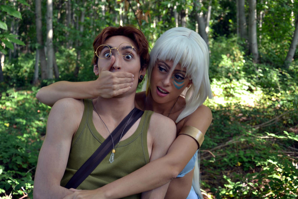 Milo and kida cosplay
