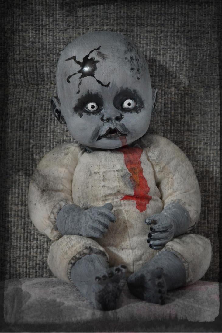 Creepy Doll- Poldo by Lady-Ragdoll