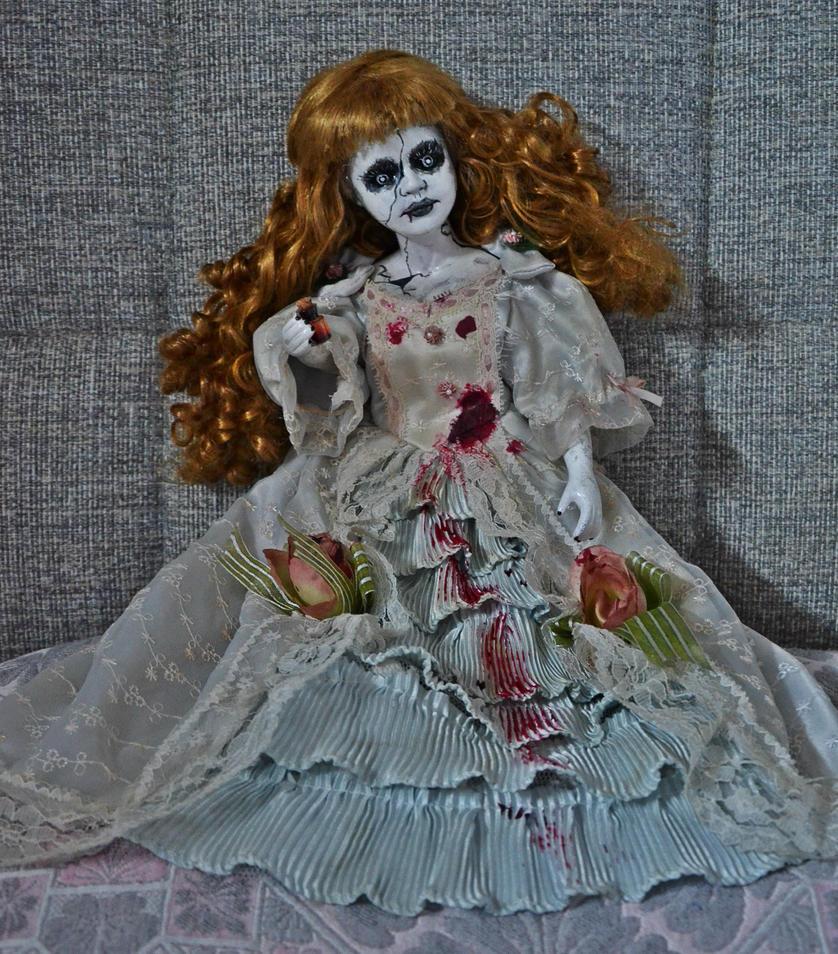 Creepy Doll- Demonia by Lady-Ragdoll