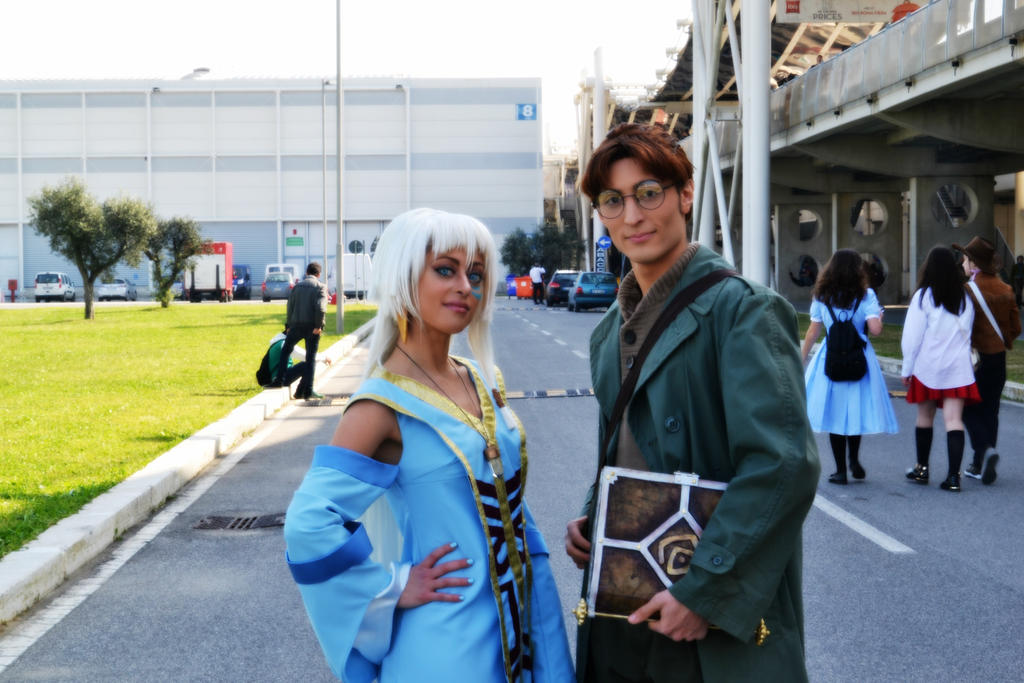 preview , Milo and Queen Kida by Lady-Ragdoll