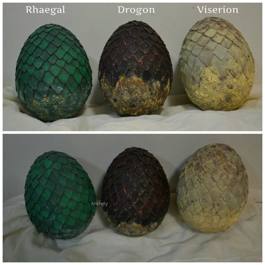 Dragon Eggs by Lady-Ragdoll