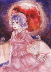 Under the Scarlet Moon by KurokoriOkami