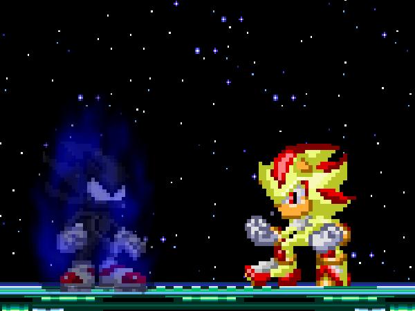 Super Shadow vs Dark Super Sonic by alvarobmk123 on DeviantArt