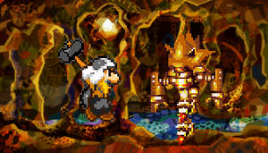 Hammer Mario vs Super Mecha Sonic