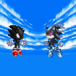 Super Sonic X Universe Tribute 02 by alvarobmk123 on DeviantArt