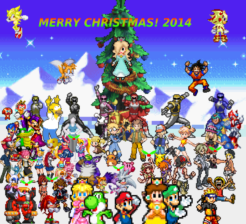 Merry Christmas 2014! by alvarobmk123