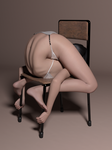 Bend on chair