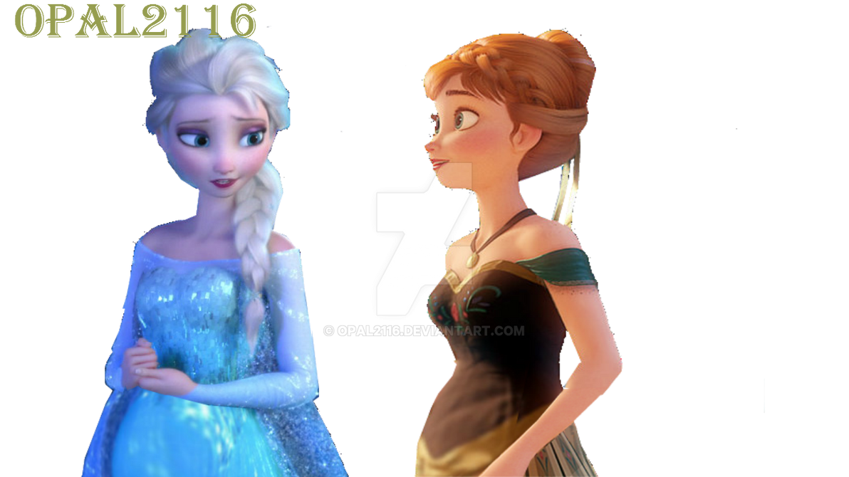 Frozen Anna And Elsa Birthday Cake
