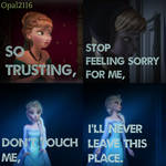 Elsa and Anna- Get Out While You Can