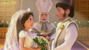 [Request] Hans and Rapunzel Wedding