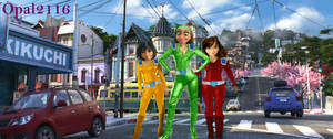 [Request] San Fransokyo Totally Spies
