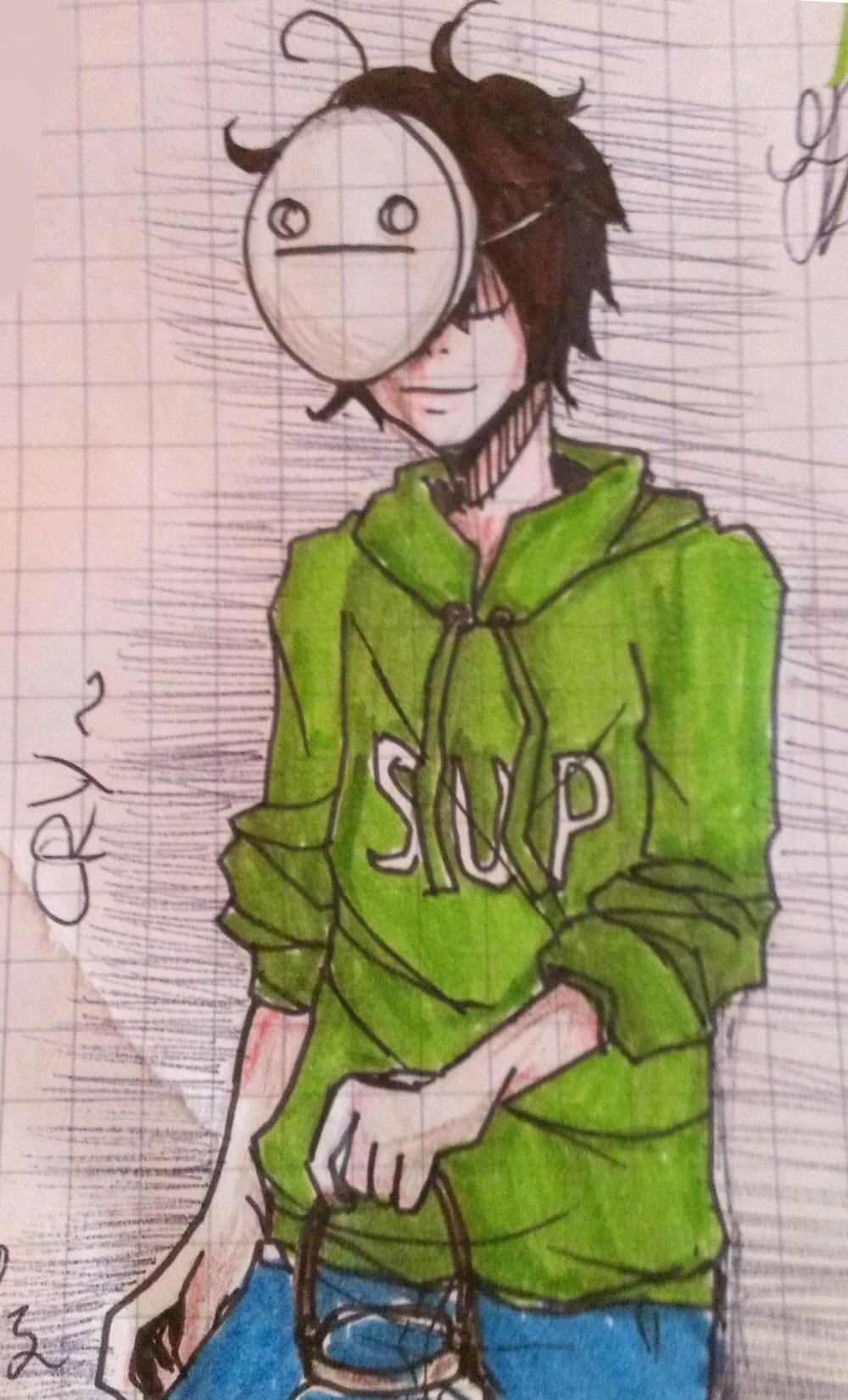 [school sketch] Cry by anemontaglub
