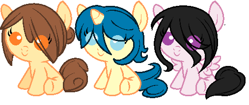 Baby MLP Pony Adopts [OPEN] by Chibi-Eevee