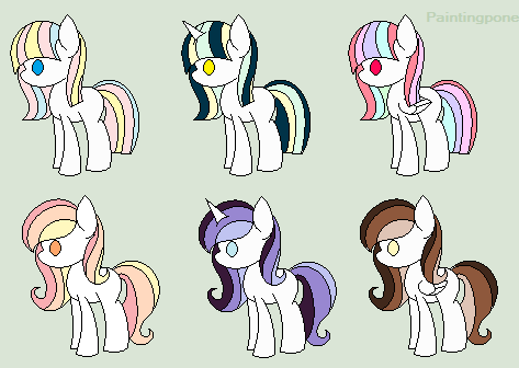 Cheap MLP Pony Adopts .:OPEN:. by Chibi-Eevee