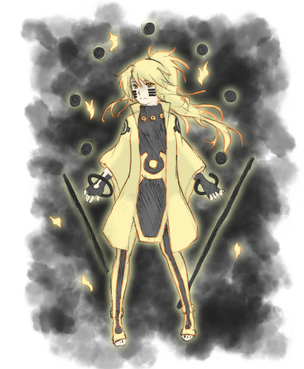Naruto Six Paths Sage Mode By AthanatosOra On