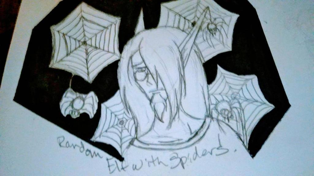 Concept Spider OC 1 by Earthsuu