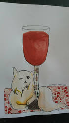 Washi Tape France Cat - Hetalia by Earthsuu