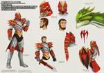 Battle Rehime   Davion Dragonknight