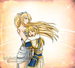 League of Legends Tranquil Affections Janna X Lux by sphelon8565