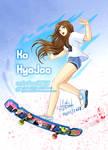 Seoul Longboarding Girl   Ko HyoJoo Tribute by sphelon8565