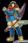 Ashitaka   Princess Mononoke by sphelon8565