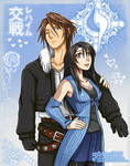 BR   Squall and Rinoa Valentines Day by sphelon8565