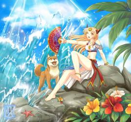 Thunderous Summer Splash by sphelon8565