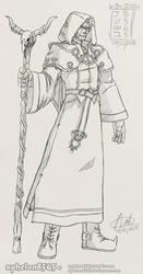 [OC] Evil Cult Druid Errant by sphelon8565