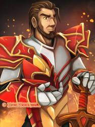 Davion the Dragon Knight by sphelon8565