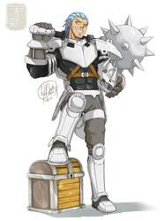[OC] Aedris - The Vigorous Adventurer Aggron