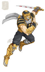 [OC]  Hanzo Hatoori - The Fierceful Ninja Ninjask