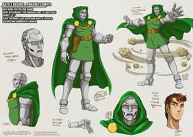 Battle Rehime |Dr. Doom by sphelon8565