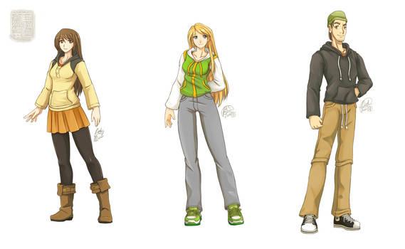 [OCAS] Original Characters: Harumi Alexis Dax