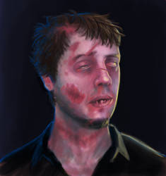 Zoombie self portrait