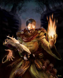 Fire Mage character card