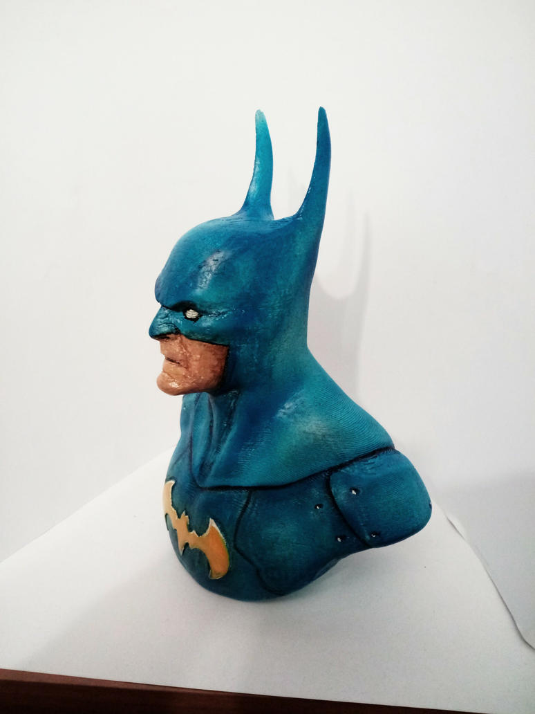 Batman statue finished 3D print by KilledCZ
