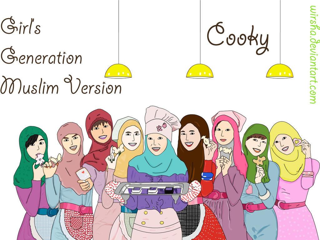 Girl's Generations - Muslim Version by Wirsha