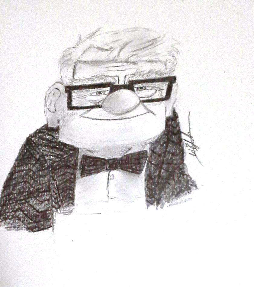 Carl Drawing by Wirsha